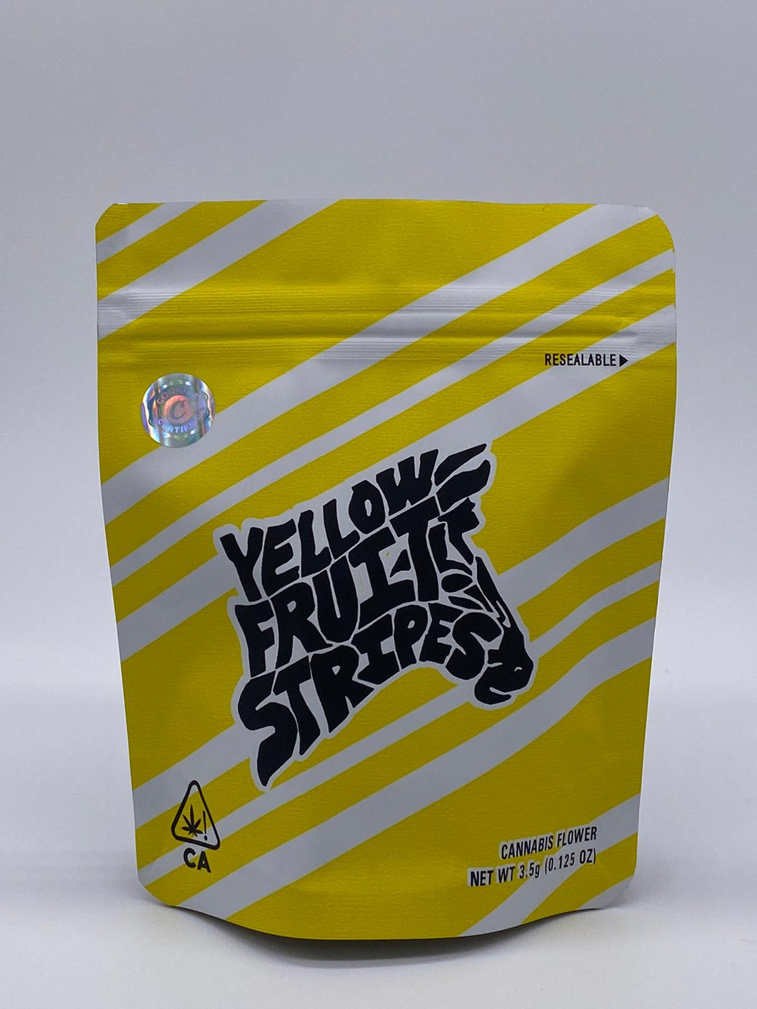 SF Cookies Bag – Yellow Fruit Stripes 3.5 Grams Bag