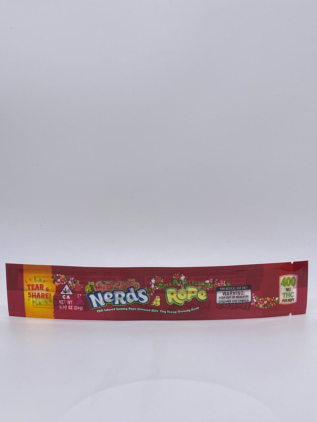 Nerds Rope Bag - Red