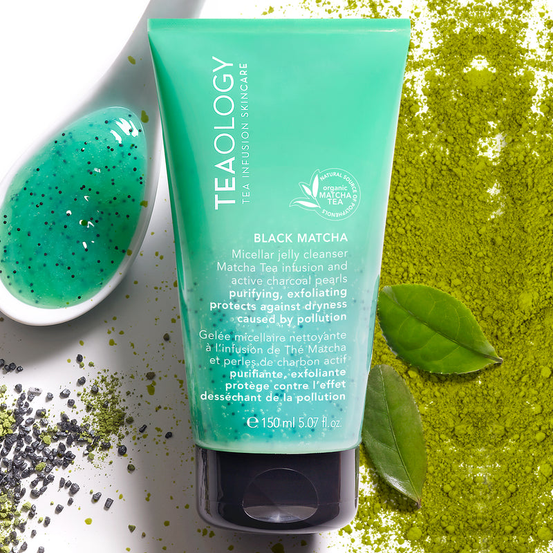 Black Matcha | Micellar Jelly Cleanser - Teaology Skincare