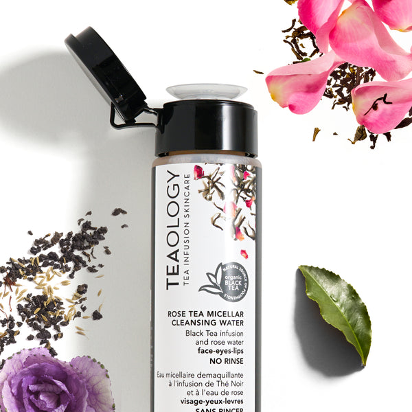 Rose Tea | Micellar Cleansing Water - Teaology Skincare