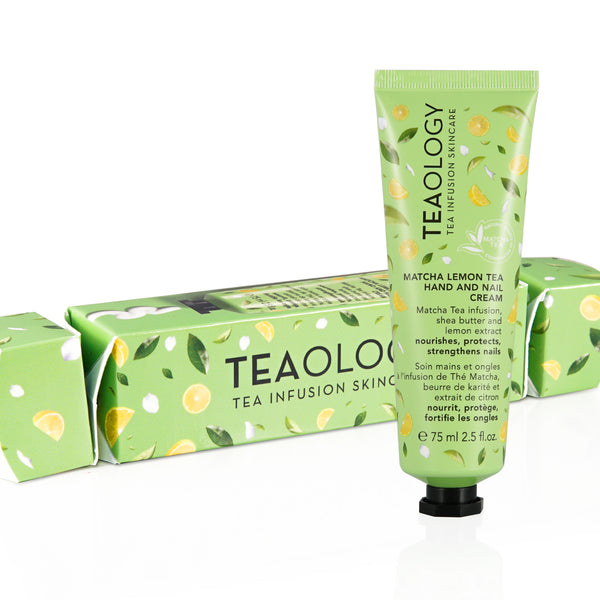 Matcha Lemon Tea Hand And Nail Cream | confezione regalo - Teaology Skincare