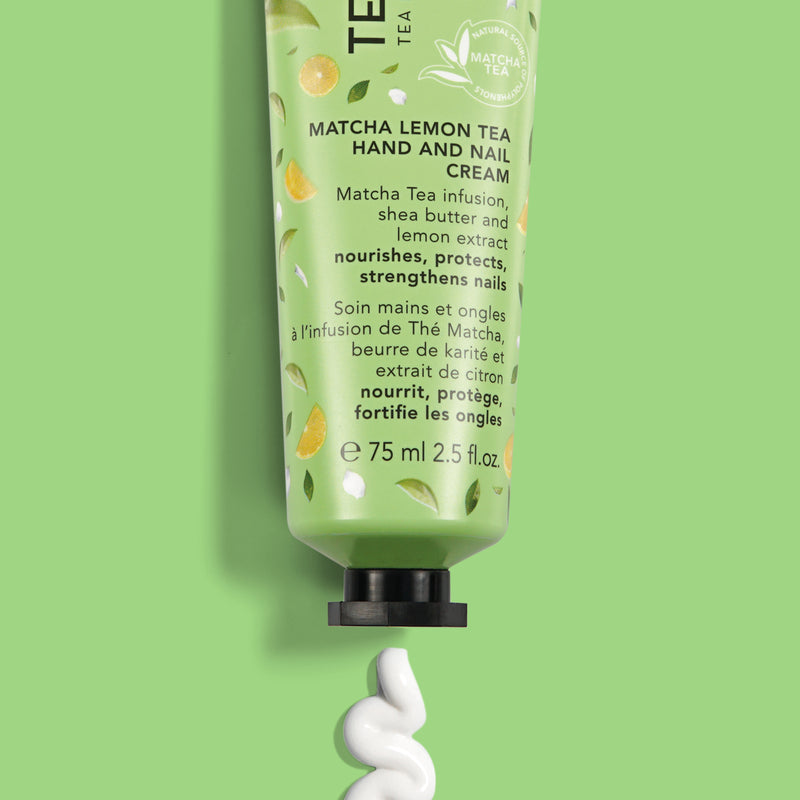 Matcha Lemon Tea | Hand and Nail Cream - Teaology Skincare