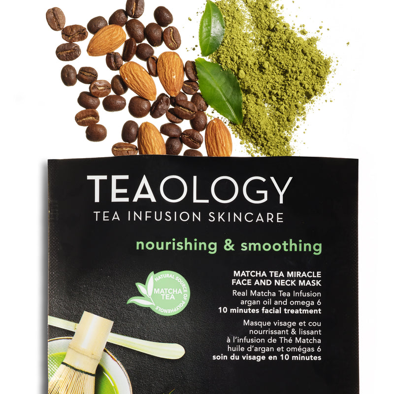 Matcha Tea Miracle Face and Neck Mask | Nourishing & Smoothing - Teaology Skincare
