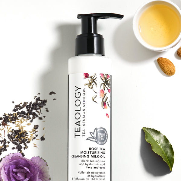 Rose Tea | Moisturizing Cleansing Milk-Oil - Teaology Skincare