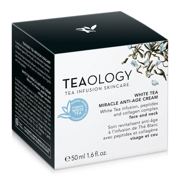 White Tea Miracle Anti-age Cream - Teaology Skincare