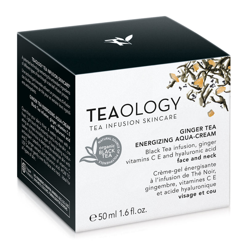Ginger Tea Energizing Aqua-Cream - Teaology Skincare
