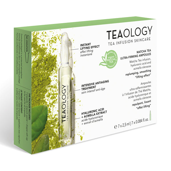 Matcha Tea | Ultra-Firming Ampoules - Teaology Skincare