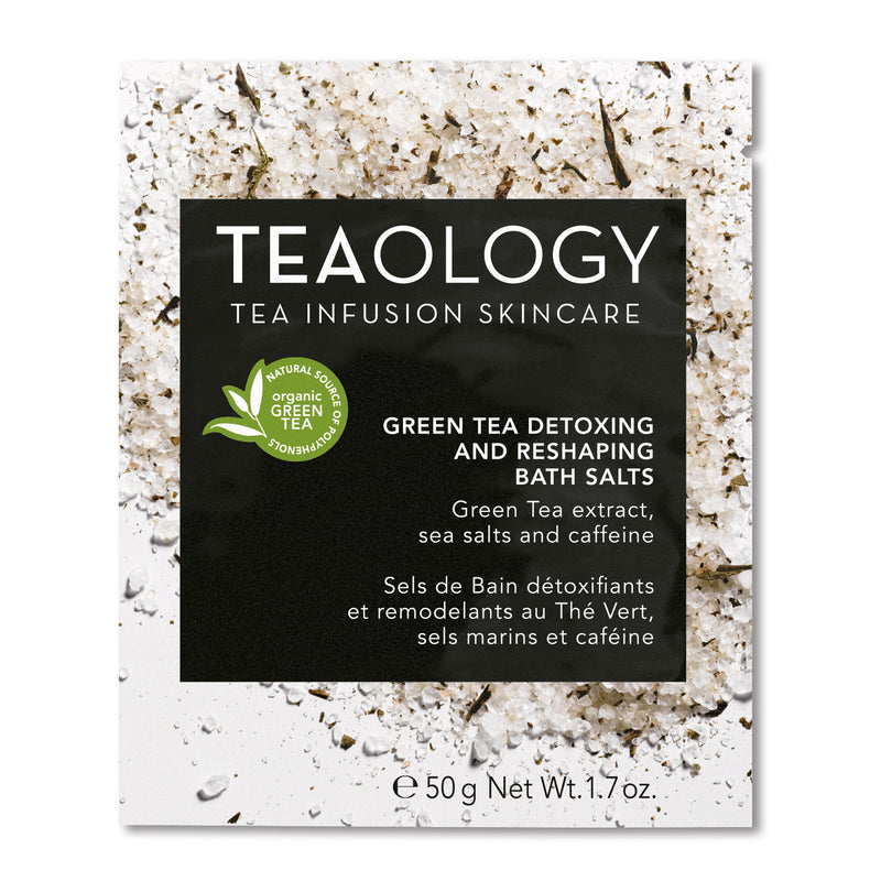 Green Tea | Detoxing and Reshaping Salt Bath - Teaology Skincare