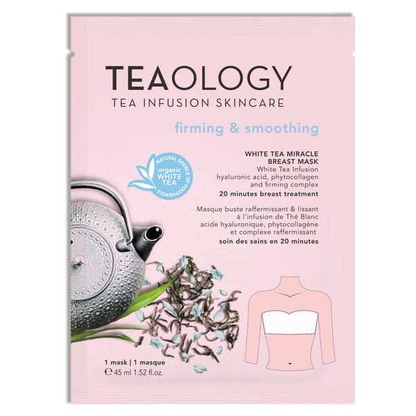 White Tea Miracle Breast Mask | Rassodante e Levigante - Teaology Skincare