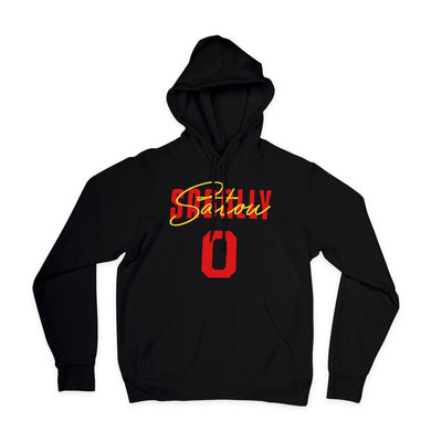 Satou Sabally Black Deutschland Signature Hoodie