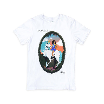 Satou Sabally White Masterpiece Tee