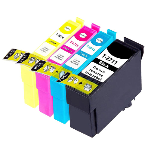 Compatible Epson 1 Set of 4 WF-3620DWF Ink Cartridges (27XL)