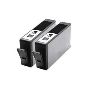 Compatible HP 2 Black Photosmart C5373 ink cartridge (364XL)