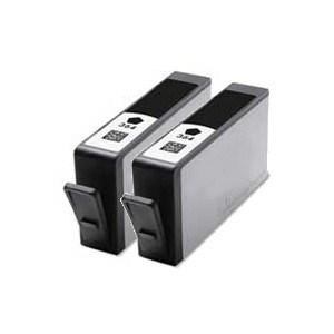 Compatible HP 2 Black Photosmart B109a ink cartridge (364XL)
