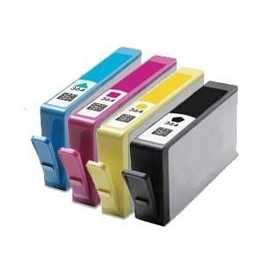 Compatible HP 1 Set of Photosmart B109a ink cartridges (364XL)