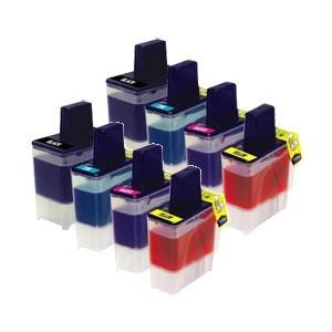 Compatible Brother 8 LC900 DCP-120C Ink Cartridges