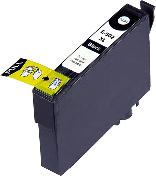 Compatible Epson 502XL High Capacity Ink Cartridge - 1 Black