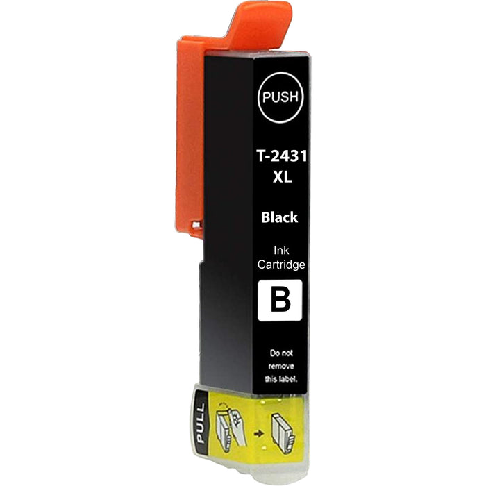 Compatible Epson Black XP-950 Ink Cartridge (T2431 XL)