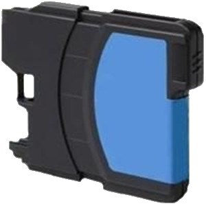 Compatible Brother LC980 High Capacity Ink Cartridge - 1 Cyan