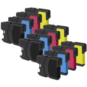 Compatible Brother 12 LC985 MFC-J515W Ink Cartridges