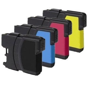 Compatible Brother LC985 - Black / Cyan / Magenta / Yellow - Pack of 4 - 1 Set