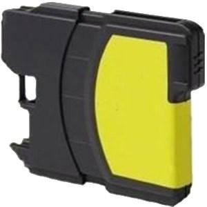 Compatible Brother LC980 Yellow DCP-J715W Ink Cartridge