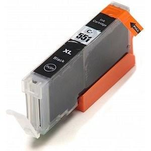 Compatible Canon Small Black MG5650 Ink cartridges (CLI-551 XL)