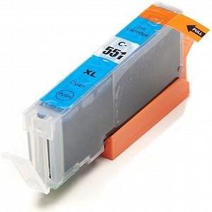 Compatible Canon Cyan MX725 Ink cartridges (CLI-551 XL)