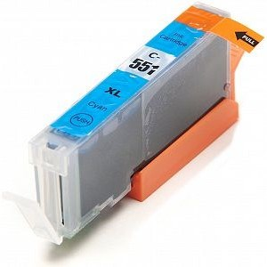 Compatible Canon CLI-551 XL High Capacity Ink Cartridge - 1 Cyan