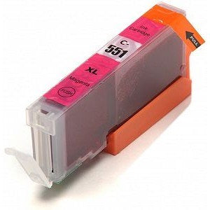 Compatible Canon CLI-551 XL High Capacity Ink Cartridge - 1 Magenta