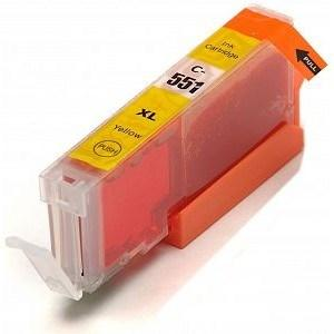 Compatible Canon Yellow MG7150 Ink cartridges (CLI-551 XL)
