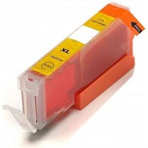 Compatible Canon Yellow TS5055 Ink cartridges (CLI-571 XL)