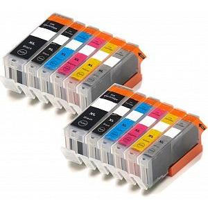 Compatible Canon 2 Sets of MG7750 Ink cartridges (PGI-570 / CLI-571 XL)