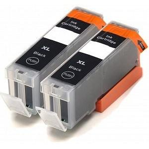 Compatible Canon 2 Black MG7753 Ink cartridges (PGI-570 XL)