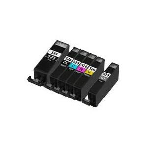 Compatible Canon 1 Set of 6 MG8220 Ink cartridges (PGI-525 / CLI-526 XL)