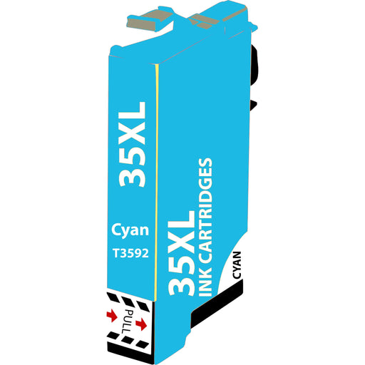 Compatible Epson WF4725 Cyan T3592 High Capacity Ink Cartridge - x 1