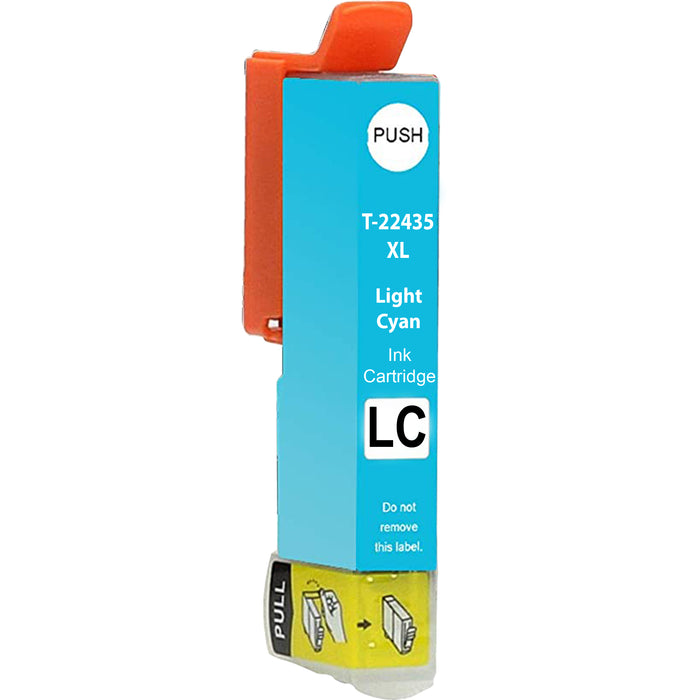 Compatible Epson 24XL XP-960 High Capacity Ink Cartridge - 1 Light Cyan