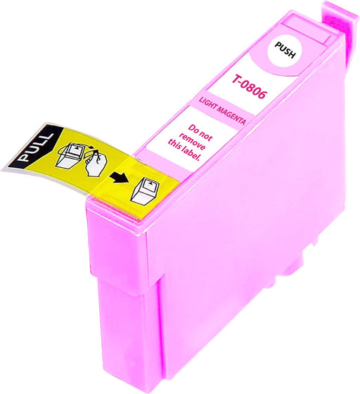 Compatible Epson Light Magenta R285 Ink Cartridge (T0806)