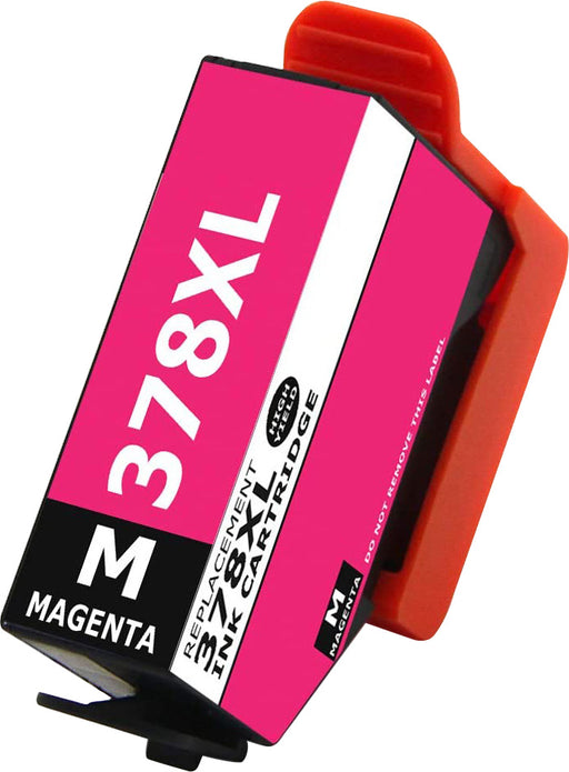 Compatible Epson 378XL Magenta High Capacity Ink Cartridge - x 1