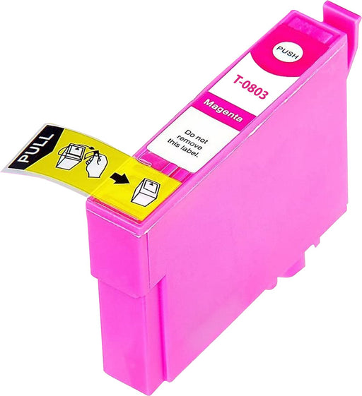 Compatible Epson Magenta PX710W Ink Cartridge (T0803)