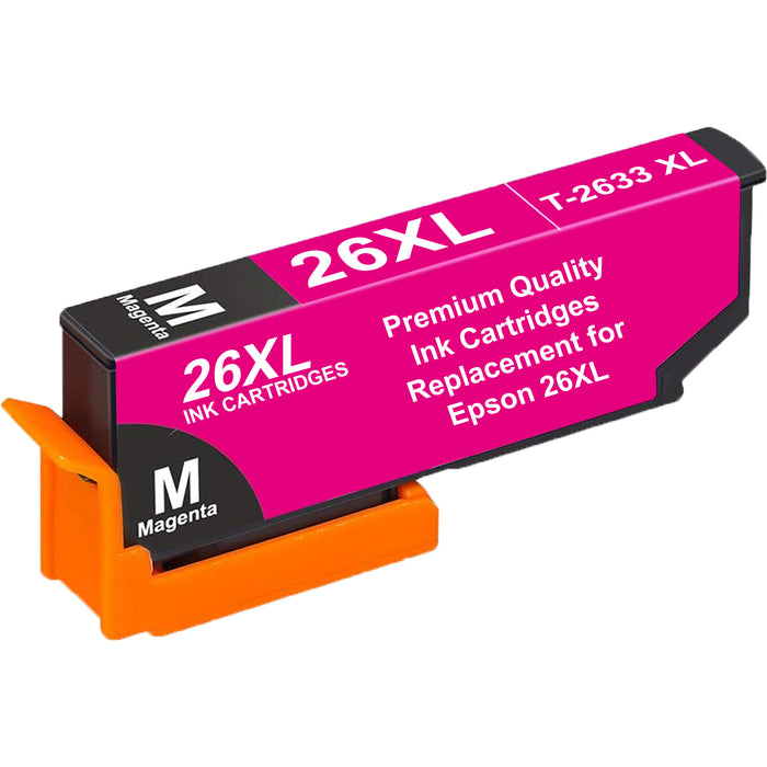 Compatible Epson 26XL T2633XL High Capacity Ink Cartridge - 1 Magenta