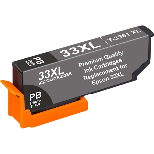 Compatible Epson 33XL T3361XL High Capacity Ink Cartridge - 1 Black