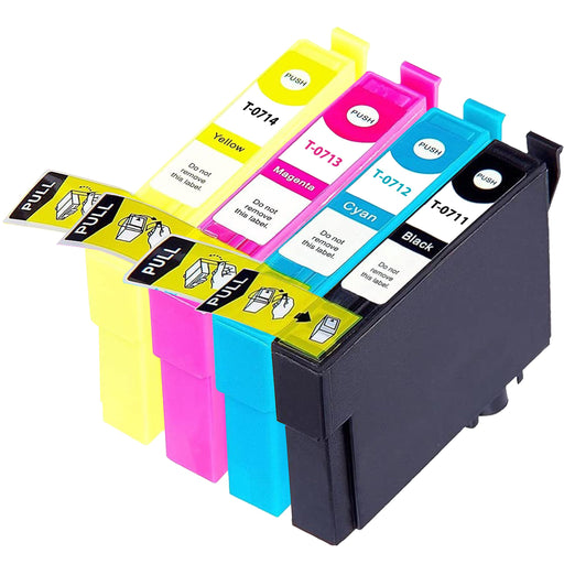 Compatible Epson 1 Set of 4 BX610FW ink cartridges (T0715)