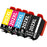 Compatible Epson 202XL Black / Cyan / Magenta / Yellow / Black Large - Pack of 5 - 1 Set