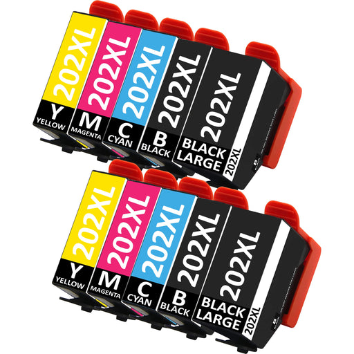 Compatible Epson XP-6100 Black / Cyan / Magenta / Yellow / Black Large - Pack of 10 - 2 Sets
