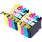 Compatible Epson 2 Sets of 4 SX215 ink cartridges (T0715)