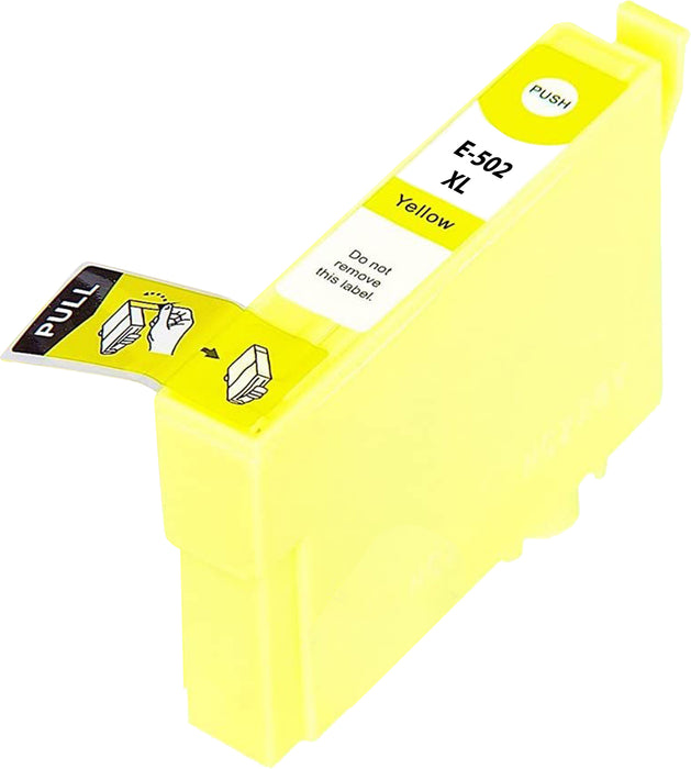 Compatible Epson 502XL High Capacity Ink Cartridge - 1 Yellow