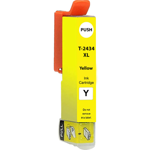Compatible Epson Yellow XP-860 Ink Cartridge (T2434 XL)