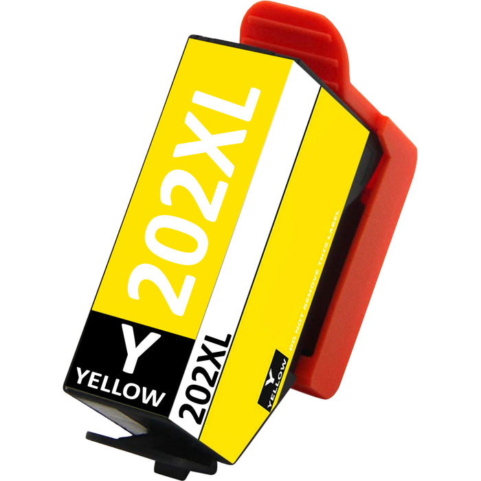 Compatible Epson 202XL High Capacity Ink Cartridge - 1 Yellow