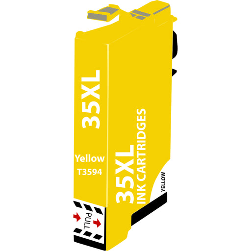 Compatible Epson 35XL Yellow T3594 High Capacity Ink Cartridge - x 1
